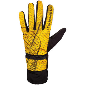La Sportiva Winter Running Gloves Men yellow/black